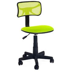 vecelo home office furniture green swivel adjustable office task computer desk chair without arms with fabric pads green reviews office furniture amazon home office furniture