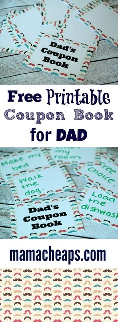 Printable FatherS Day Coupons  Printable Coupons Dads And Coupons