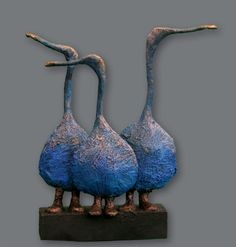 Galerie - Josefine-Art Pottery Painting Designs, Paint Designs, Animal Sculptures, Sculpture Art, Ceramic Sculpture Figurative, Contemporary Sculpture, Stone Art, Betty Boop, Ceramic Art