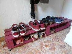 Customisation De Palette : Meuble Chaussures Palette Meuble Chaussures Palette