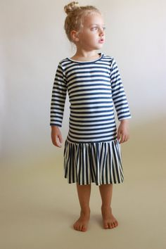 city dress / pdf sewing pattern / toddler 12m to girls 10/12 / instant download. too sweet patterns