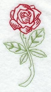 Machine Embroidery Designs at Embroidery Library! - Roses