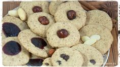 Healthy Recipes, Cookies, Desserts, Food, Cacao Powder, Almonds, Biscuits, Baking, Food Food