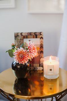 A Fall Living Room Update | theglitterguide.com