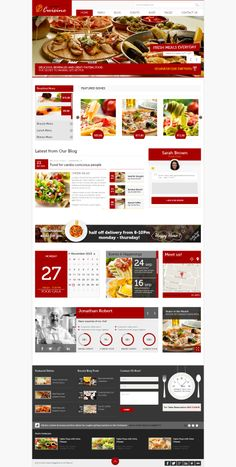 Kitchen Cuisine - #Restaurants & #Café HTML #Template