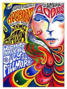 The Doors, Yardbirds, James Cotton Blues Band, and Richie Havens at the Filmore.