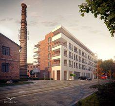 Wizualizacje 3d budynków mieszklanych i usługowych