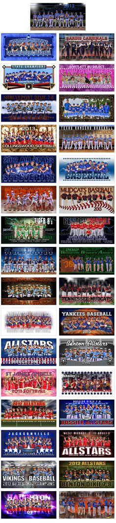 Team Banner Special        THE TEAM BANNER SPECIAL HAS ENDED FOR 2014. This year drive more sales to your door with our Spring Team Banner Special. Purchase all 33 of our team banner templates and watch a new revenue stream grow for your business. All 33 templates are fully editable and cover both baseball and softball. …
