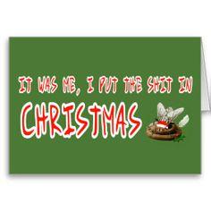Hilarious ,funny , rude Xmas Cards #santa #Christmas #funny #rude ...
