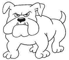 La Chachipedia: Dibujos de perros para colorear.