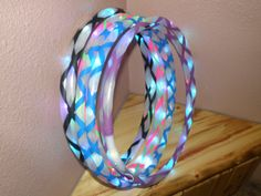 Practice Hula Hoop taped your way with gaffers grip tape - Poly Pro HDPE on Etsy, $19.00