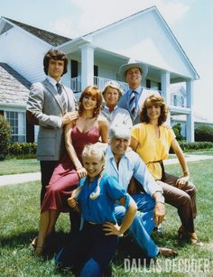 Dallas cast, 1979