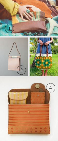 AMTHELAB WINTER PICKS 2013 – HOT BAGS: 20 of the hottest handmade bags and purses from around the world. Get one for yourself or as a gift for family and friends.