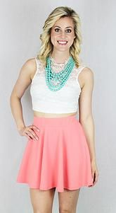 dearjaneboutique | Forever Yours Skirt- Pink