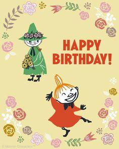25th Birthday, Birthday Wishes, Little My Moomin, Moomin Wallpaper, Moomin Valley, Cartoon Photo, Tove Jansson, Happy Birthday Quotes, A Comics