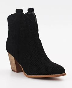 Capital - Black Ankle Boots, Lady, Heels, Fashion, Ankle Booties, Heel, Moda, Fashion Styles, High Heel