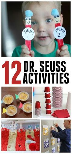 Toddler Approved!: 12 Easy Dr. Seuss Activities for Toddlers and Preschoolers