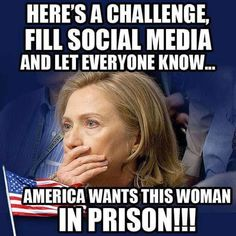 Hillary for Prison 2016!