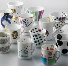 Ceramics by Paola Navone: Paola Navone reworks classic white china ...