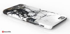 Black and White Marble iPhone 6 Case from Madotta on a White Background