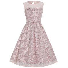 'Aleena' Soft Pink Prom / Bridesmaid Dress