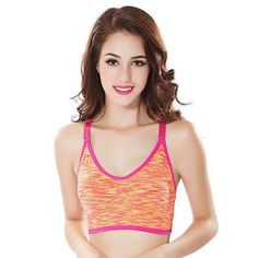 7983a53c7e Women s Push Up Brassiere Yoga Sports Bra Fitness Shirt with Padding Dry  Quick Tank Tops for Running Gym Bras