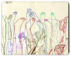 Magazine - Sketchbook Illustrations by Bryce Wymer
