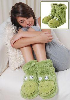 Slipper socks fun for feet kikker