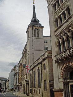 St Margaret Lothbury - Christopher Wren, Architect