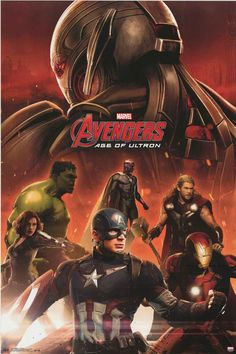A great poster! The Avengers re-assemble to thwart the Age of Ultron in the hit Marvel Comics movie! Fully licensed. Ships fast. 22x34 inches. Check out the rest of our amazing selection of Avengers p