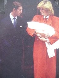 September 16, 1984: Prince Charles and Princess Diana with her newborn son Prince Harry posing for photographers outside St Mary's Lindo Wing, Paddington.