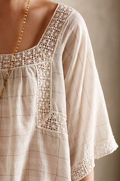 Shani Peasant Blouse - anthropologie.com #anthrofave #anthropologie