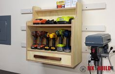French Cleat Storage System-8