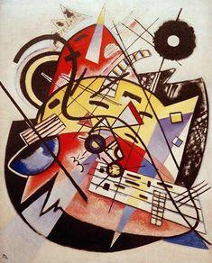 "Wassily Kandinsky - ""White Dot"", 1923"