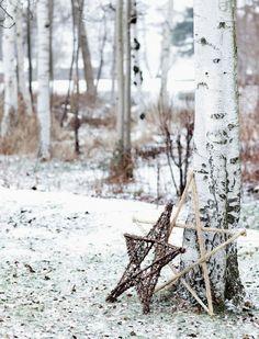 La navidad mas nórdica de una casa en el norte
