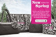 www.mythirtyone.com/KylaSmith  The new spring catalog is out with new products and new prints!