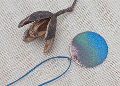 Copper jewelry Copper necklace Copper pendant by FlowerOfParadise