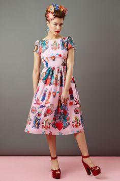 Poppy's textile design for Tara Startlet's collection'Amoré Mexicana'