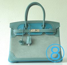 ¸.•**•.¸ For sale  NEW  Hermes Birkin 30 cm ghillies grizzly, 3 colors blue with  palladium hardware.  ¸.•**•.¸  Продажа нового Гермес Биркин 30см Ghillies гризли, 3 цвета синий, с палладия аксессуаров. ¸.•**•.¸   E-mail: marcel@8leafs.com M/WA: +905462124509  Line: 8leafs_e Web: www.8leafs.com   8 Leafs for 6 year in the market as the most trusted reseller of only 100% authentic Hermes bags. Located in the Netherlands, Belgium and now also Turkey!