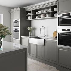 40 Best Farmhouse Kitchen Cabinets Design Ideas And Decorations. Below are the 40 Best Farmhouse Kitchen Cabinets Design Ideas And Decora. Apron Front Kitchen Sink, Above Kitchen Cabinets, Single Bowl Kitchen Sink, Farmhouse Sink Kitchen, Kitchen Cabinet Design, Kitchen Sets, Kitchen Interior, New Kitchen, Kitchen Decor