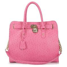 Michael Kors Ostrich-Embossed Large Pink Tote [MK0000000506] - $62.99 : Michael Kors Outlet, Michael Kors Outlet Store