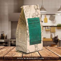 KebonKopi Arabica Coffee - Kopi Arabika Sumatra Mandheling |   Call SMS Whatsapp 081915483514 |  #kopi #kopiindonesia #kopiarabica #coffee #arabicacoffee #coffeepackaging #mandheling #mandailing