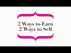 Make the most of Avon's 2 Ways to Earn and 2 Ways to Sell - YouTube