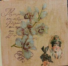 Craquelado, stencil, transfer, decoupage. Esencial 2 Chalk Paint Annie Sloan.