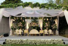 Most Popular Wedding Themes Rustic Fall Ideas Wedding Backdrop Design, Wedding Stage Design, Rustic Wedding Backdrops, Outdoor Wedding Decorations, Wedding Themes, Outdoor Wedding Isle, Backyard Wedding Lighting, Outdoor Wedding Invitations, Popular
