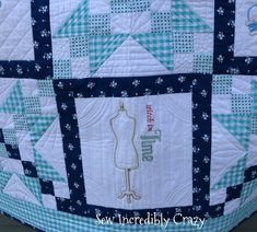 Sew Incredibly Crazy: All Quilted Up!