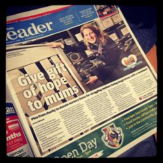 We were on the cover of the Port Phillip Leader on Tuesday for our #cotsfortots campaign. Please share and help us find cots for 500 families. Thank you!