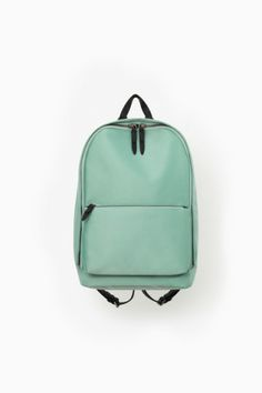 Love this simple minty backpack