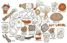 claudia pearson food illustration