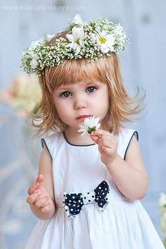 Girls Dresses, Flower Girl Dresses, Wedding Dresses, Cute, Fashion, Flowers, Dresses Of Girls, Bride Dresses, Moda
